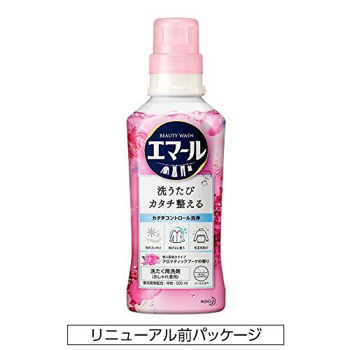 エマール洗濯洗剤液体おしゃれ着用アロマティックブーケの香り本体500ml