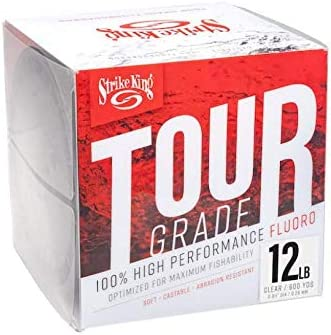Opening large release sale Tour Grade Popularity Fluorocarbon 12lb 600yd Clear