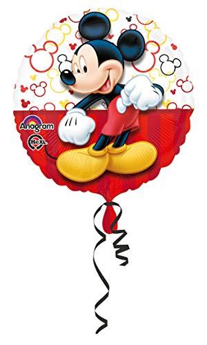 amscan Folienballon Micky Maus, Mehrfarbig