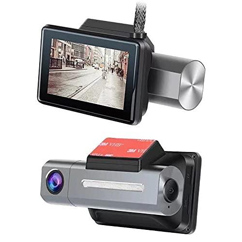 YUYAN Grabadora oculta HD visión nocturna del coche WiFi inalámbrico grabadora de conducción mini HD Starlight visión nocturna aparcamiento Monitoreo grabación en bucle fácil de instalar