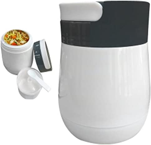 discount always-quality Lunchbox Hot or Cold online Food Jug Leak Proof w/Cup BPA/ASBESTOS wholesale free 1 LITER Vacuum Glass Insulated outlet sale