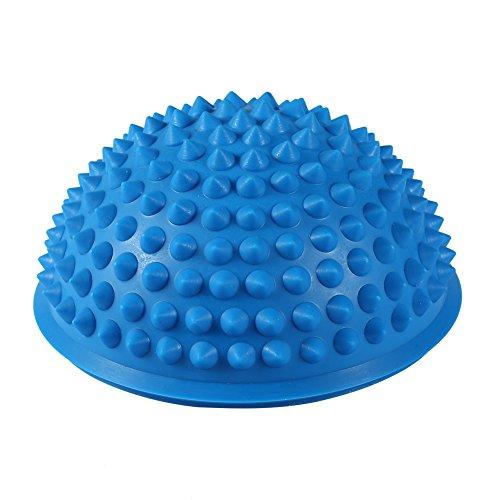 yoga emisfero fitness apparecchio fitness esercizio equilibrio palla massaggio tappetino esercizio trampolino equilibrio bilanciere palestra yoga palla pilates(blu)