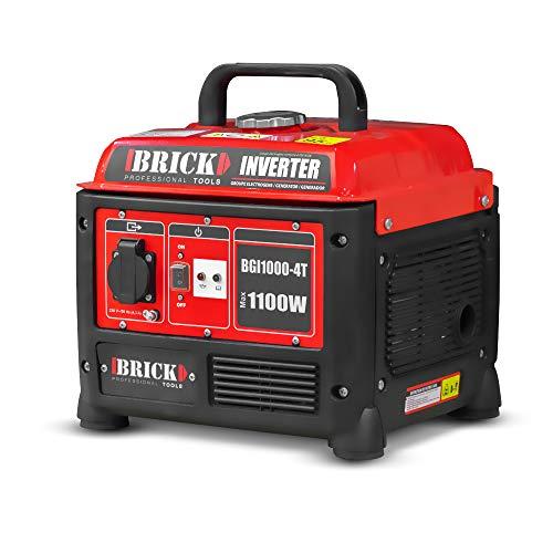 Groupe électrogène inverter max 1100W - Brick