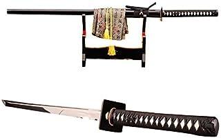 Lyuesword Japanese Full Tang Ninja Sword Battle Ready 1060 Carbon Steel Ninja Sword