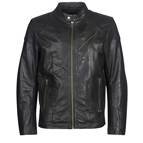 Chevignon Steel Jacken Herren Schwarz - S - Lederjacken/Kunstlederjacken Outerwear