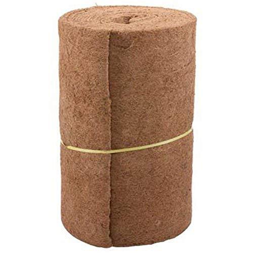 cuepar 33 24 Zoll natürliche Kokosnussfaser-Kakaopads in Loser Schüttung, um die Bewässerungszeit zu verkürzen, verwendet in Wandbehangkörben, geeignet für Hochzeitsdekoration im Hausgarten