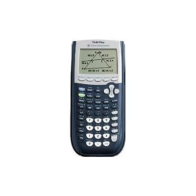 GADGETS-R-US TI-84 Plus Graphing Calculator, 10-Digit LCD Graph Algebra Scientific Graphic TI84 TI 84 Virtual Caculator Graphic New Gadget by GADGETS-R-US