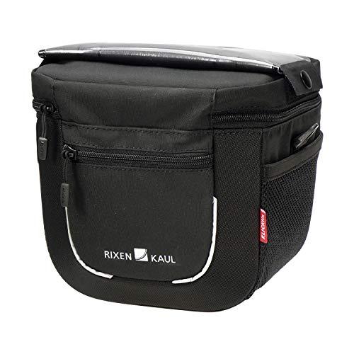 KlickFix Aventour Compact Stuurtas, Black, 3 Liter