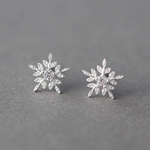 nc56 Pendientes de tuerca de plata de ley 925, 100% auténtica para mujeres y niñas, accesorios de joyería de plata de ley