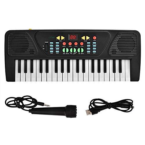 Kunststoff E Piano 37 Tasten USB Kinder Puzzle Früherziehung Keyboard...