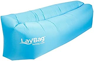 LayBag Inflatable Air Lounge, Blue [並行輸入品]