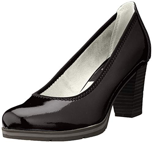 Jana 100% comfort Damen 8-8-22408-24 Pumps, Schwarz (Black 001), 40 EU