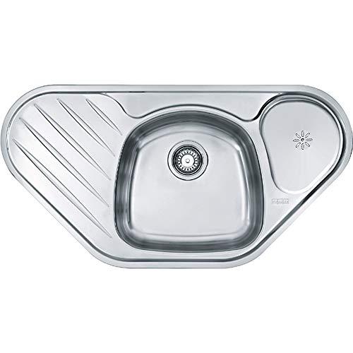 Franke Libera LIX 681-E Edelstahl-Spüle glatt Abwaschbecken Küchenspüle Auflage