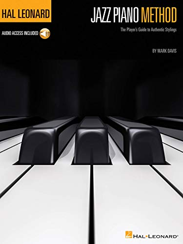 Hal Leonard Jazz Piano Method (Pianoforte Book / Audio Online): Noten, Lehrmaterial, Download (Audio) für Klavier