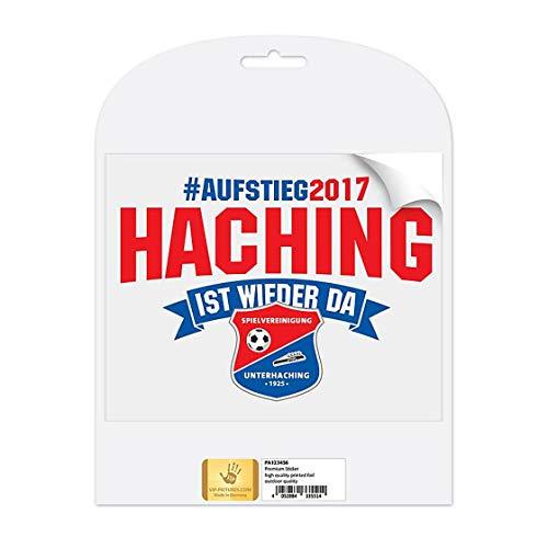 SPORTSMA SpVgg Unterhaching AutoAufkleber Sticker aus Selbstklebende PVC Folie 50cm Fußball Fanartikel