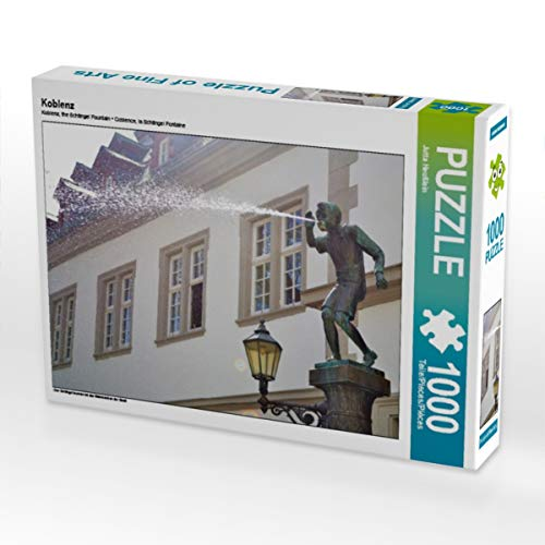 CALVENDO Puzzle Koblenz 1000 Teile Lege-Größe 64 x 48 cm Foto-Puzzle Bild von Jutta Heußlein