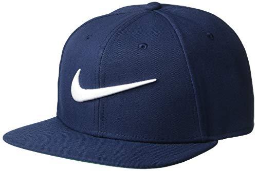 Nike Sportswear Pro Swoosh Cap, Obsidian/Pine Green/Black/White, One Size