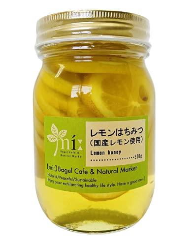 レモンはちみつ 500g 国産レモン使用 アカシアはちみつ使用 無添加 国内生産手作り (1)