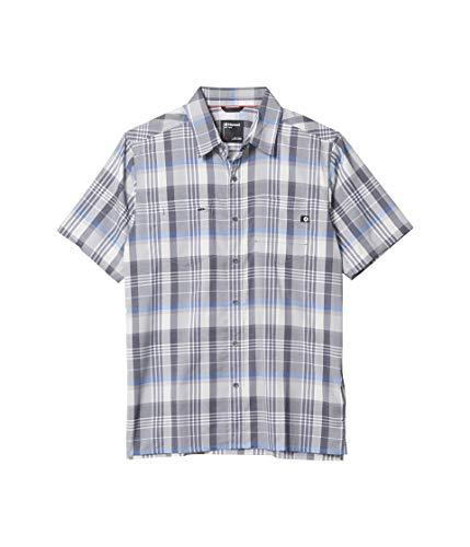 Marmot Herren Innesdale Short Sleeve Hemd, Sleet, XXL