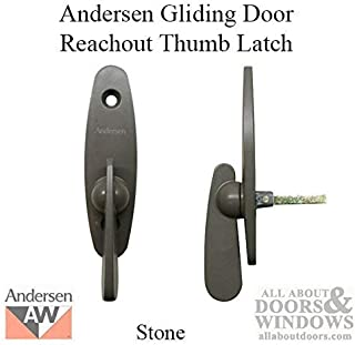 Andersen Tribeca Style - Gliding Door Thumb Latch - Stone Color