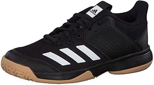 adidas D97704_38 Volleyball Shoes, Black, 35 EU