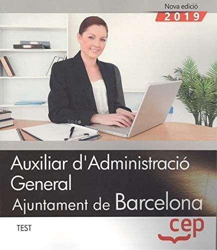 Auxiliar d administracio general ajuntament de barcelona test