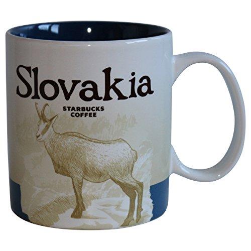 Starbucks City Mug Slowakei Slovensko Kaffeetasse Pott
