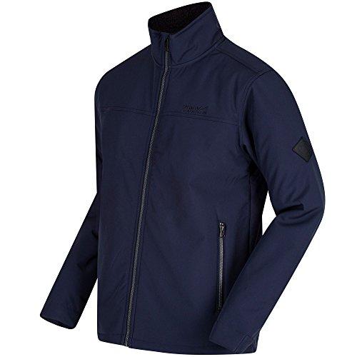 Regatta - Veste Softshell Coupe-Vent Castiel - Homme (2XL) (Bleu Marine)