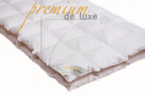 Premium de luxe 975.97.005 Mattress Topper, 200 x 200 cm, 8 x 8 Karos, 2.200 gr.