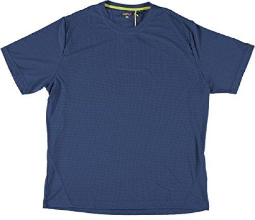 MeRu Herren Trekking T-Shirt Wembley Blau M