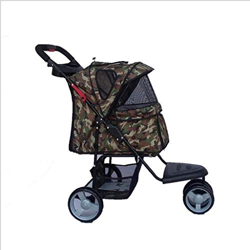Safe Pet Bag Big Wheel Pet Stroller Jogging Plegable Pet Stroller Oxford Pet Stroller Bicicletas para Mascotas