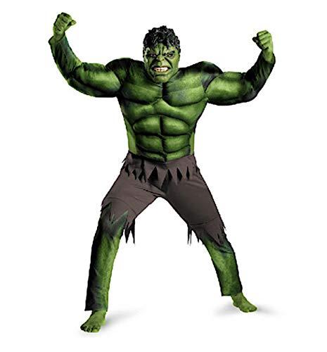 costume carnevale hulk VersusModa Simile Hulk Cosplay Costume Carnevale Travestimento Bambino Cosplay HULK01 (L)