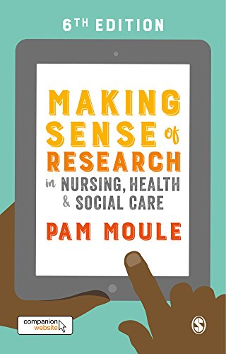 41ZE2F668UL - Making Sense of Research in Nursing, Health and Social Care