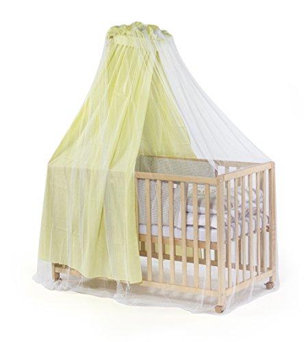 DIAGO Moskitoschutz für Kinderbetten mit HimmelInsektenschutz für das Babybett mit Himmel 30013.71363, Weiß