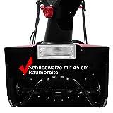 HECHT 9181 Elektro-Schneefräse - 8