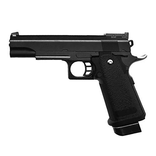 Rayline Airsoft Pistola Softair G6 Metal Completo (presión de Resorte Manual), Escala 1: 1, Peso 528 g, Longitud 22 cm, (Menos de 0,5 Julios - a Partir de 14 años)