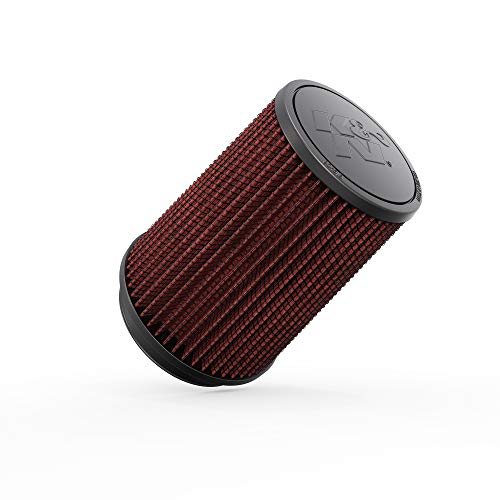 Price comparison product image K&N Universal Clamp-On Air Filter: High Performance,  Premium,  Washable,  Replacement Filter: Flange Diameter: 4 In,  Filter Height: 7 In,  Flange Length: 0.625 In,  Shape: Round Tapered,  RU-2590