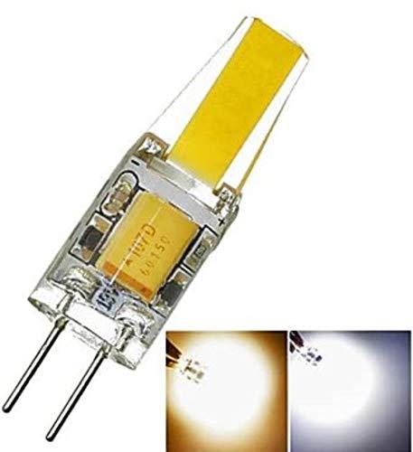 YYF Convenience G4 GZ4 MR11 MR16 GU5.3 3W LED Sapphire?260LM 3500K 6000K warme weiße/kühle weiße wasserdichte LED-Mais-Birnen-DC / AC12-16V Reliable (Size : Warm White)