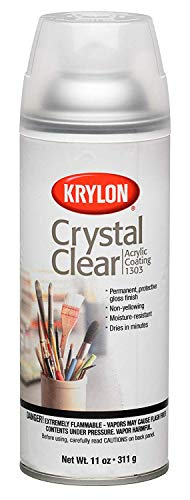 Krylon K01303007 Acrylic Spray Paint Crystal Clear...
