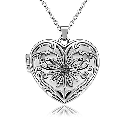 Liart Collar de Urna para Cenizas Un Pedazo de mi Corazón Está en el Cielo Colgante de Cremación Joyería de Recuerdo Conmemorativo