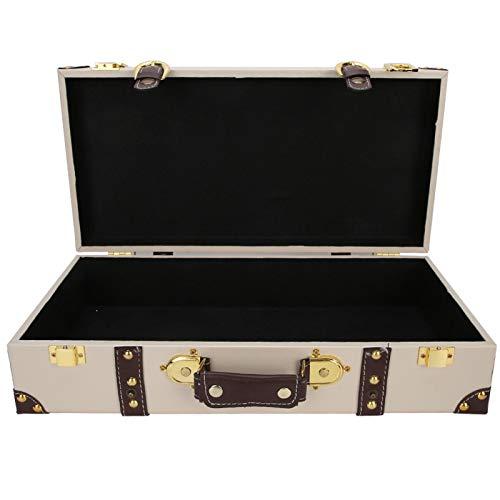 Kofferverzierung, Kofferdekoration, Vliesstoffe Futter Klassisches Rechteck für Schaufenster Fotografie Fotografie Requisiten Dekoration Store Display Box