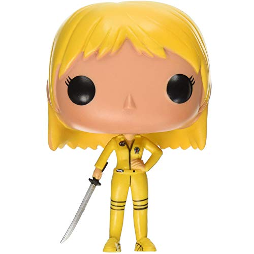 Lotoy Funko Pop Movie - Kill Bill Beatrix Kiddo #68 Vinyl 3.75inch Animation Figure Anime Derivatives Gift