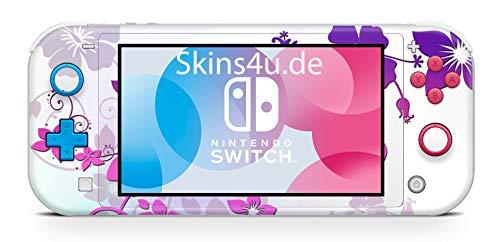 Skins4u Aufkleber Skins für Nintendo Switch Lite Konsole Decal Cover Sticker Schutzfolie Design Ranke