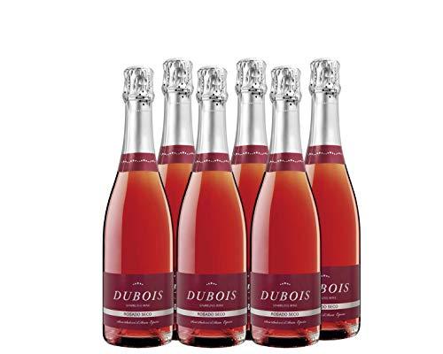 Dubois Rosado - vino espumoso rose - pack de 6 de 750 ml - Total: 4500 ml