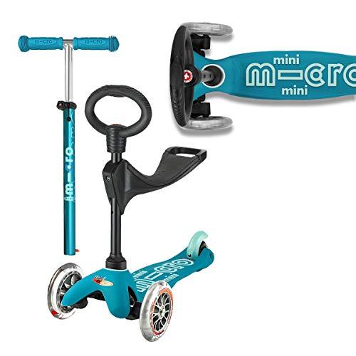 Micro – Trotinette Mini Deluxe 3 en 1
