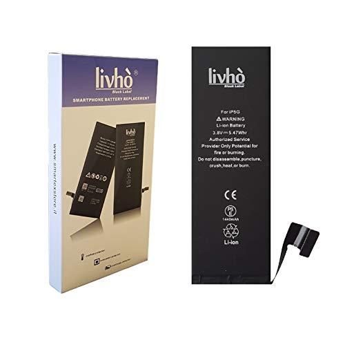livhò® Black Label Baterìa Compatible con iPhone 5