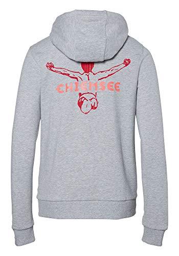 Chiemsee Damen Sweat Hoody Woman Sweatshirt, Neutral Grey Melange, M