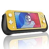 Compatible avec Nintendo Switch Lite Coque Batterie, 10400mAh Portable Batterie Externe Étui de Chargeur Banque d'alimentation Power Bank Batterie de Secours étendu rechargeable Charger Case Noir