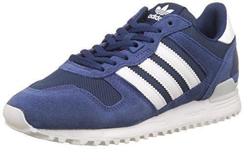 adidas Men's Zx 700 Sneakers, Blue (Mystery Blue/Footwear White/Mystery Blue), 8 UK