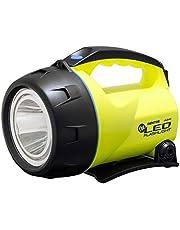 GENTOS(ジェントス) LED 懐中電灯 【明るさ450ルーメン/実用点灯23時間】 置いても使える 単1形電池4本使用 ザ・LED LK-214D ANSI規格準拠